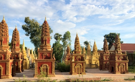 Cambodian Tombs